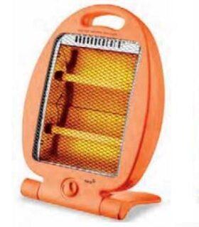 Stufa elettrica al quarzo portatile con base pieghevole Plein Air Infra-Mini - Arancio