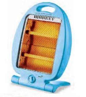 Stufa elettrica al quarzo portatile con base pieghevole Plein Air Infra-Mini - Azzurro