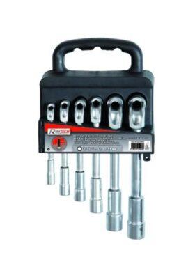 SET 6 chiavi a pipa in acciaio con valigetta in plastica Ribitech