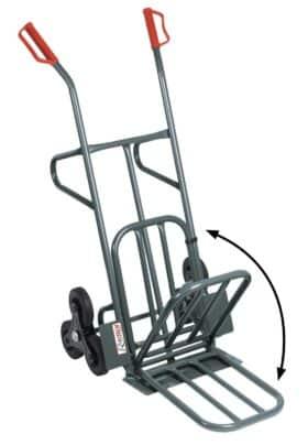 Carrello 6 ruote ideale per scale carico max 250 kg PROFESSIONALE Ribitech