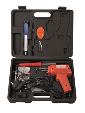KIT saldatura ( pistola + saldatore + accessori )