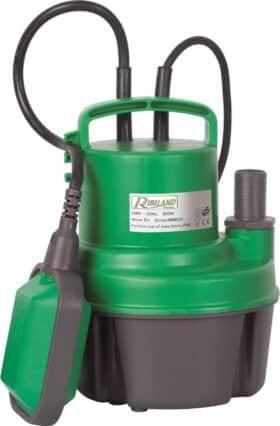 Pompa automatica sommersa 250 W per acque chiare Ribimex