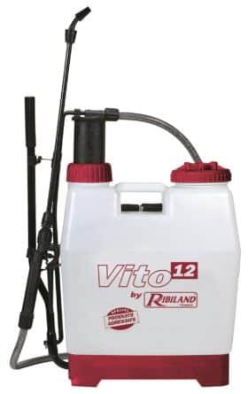 """Nebulizzatore per sanificazione ambienti a spalla per prodotti aggressivi 12 litri """"VITO"""""""