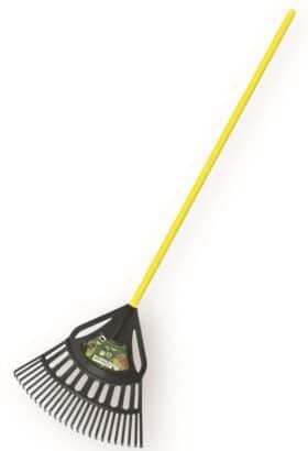 Scopa per foglie in plastica rinforzata CON MANICO larghezza 64 cm Ribimex