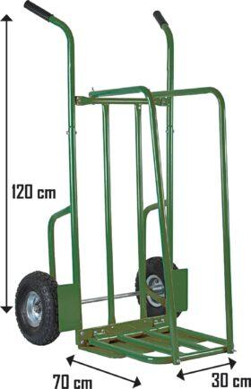 Carrello portalegna Max 250 kg Ribimex