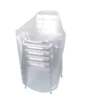 Copertura in polietilene 90 g/mq per sedie da giardino 70 x 70 x 110 cm Ribimex