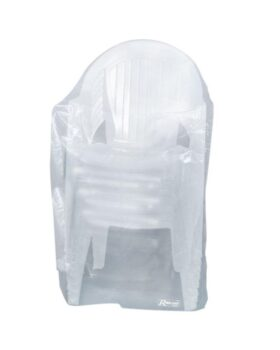 Copertura in polietilene 90 g/mq per sedie da giardino 90 x 70 x 115 cm Ribimex