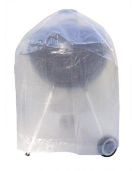 Copertura in polietilene 90 g/mq per barbecue Ø 70 x H 90 cm Ribimex