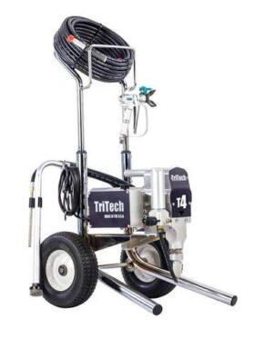 Macchina a spruzzo Airless con carrello alto Tritech T4