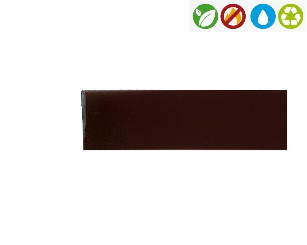 Profilo di finitura flessibile in pvc 21 mm x 4.5 mm x 2 m ...