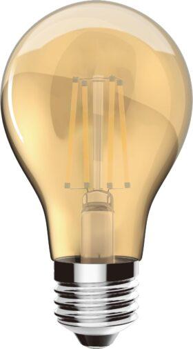 Lampadina goccia vintage led filament 4 W