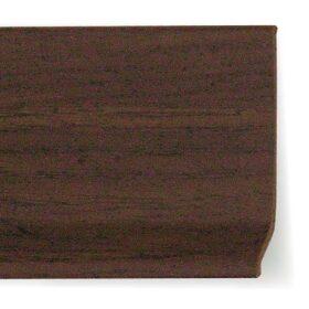 Battiscopa in pvc effetto legno 70 x 7 x 2 mm lunghezza 2 m - CONF. 200 m - vari colori