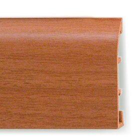 copy of Battiscopa passacavo in PVC effetto metallo o pietra 70 x 12 x 3 mm lunghezza 2 metri - CONF. 50 m - vari colori