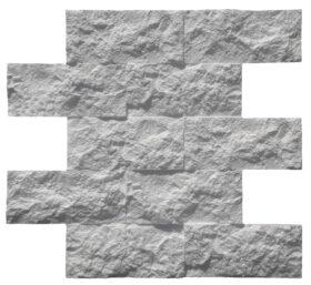 """Mattoncini decorativi in polistirolo """"FARAGLIONI DI CAPRI"""" - KIT 8 PANNELLI 49 x 55 x 2,5 cm"""