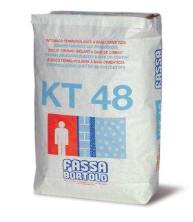 Intonaco termoisolante per esterni ed interni FASSA KT 48 - SACCO 25 KG