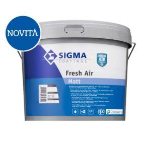 Pittura ecologica cattura formaldeide per interni Sigma FRESH AIR