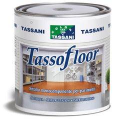 Vernice per pavimenti in cemento gres pietra cotto asfalto vecchie vernici Tassani Tassofloor