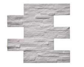 """Finto mattone in polistirolo """"QUARZO MODERNO"""" - KIT 7 PANNELLI 48 x 38 x 2,5 cm"""