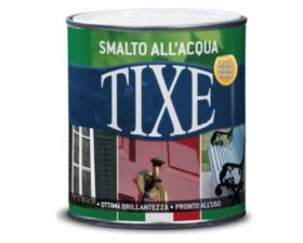Smalto acrilico all'acqua opaco per metallo, legno, muratura e plastica Tixe - Vari colori