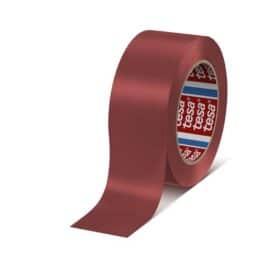 Nastro segnaletico rosso permanente premium Tesa - 33 m x 50 mm