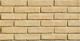 Mattoni per esterno e interno 25x1x5,5 cm San Marco listello decor Classico Giallo Paglierino - SCATOLA 36 PZ - 0,58 mq