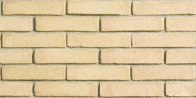 Mattoni per esterno e interno 25x1x5,5 cm San Marco listello decor Giallo Vivo - SCATOLA 36 PZ - 0,58 mq