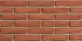 Mattoni per esterno e interno 25x1x5,5 cm San Marco listello decor Rosso Massimo - SCATOLA 36 PZ - 0,58 mq