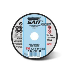 Disco per mola da taglio per metallo dim 230x2x22,23 mm Sait TMA30S