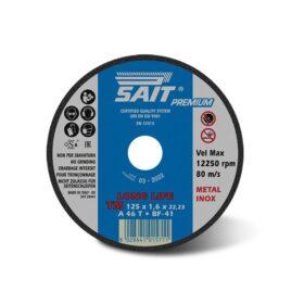 Disco per mola da taglio per metallo dim 115x1,6x22,23 mm Sait TMA46T
