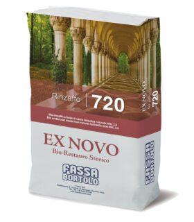 rinzaffo 720 fassa bortolo a base di calce idraulica naturale per murature umide per interni ed esterni