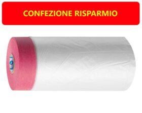 Nastro pellicola fine per mascheratura e protezione resistente ai raggi uv 33 m x 55 cm Storch Pellicola Cover Quick - 10 PZ