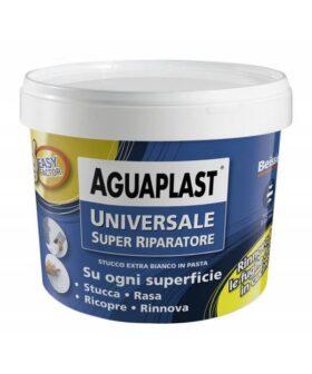 Stucco per buchi e crepe universale riparatore bianco in pasta AGUAPLAST SUPER RIPARATORE kg.1
