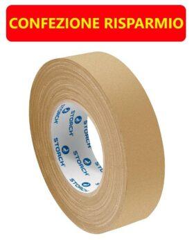 Nastro in carta lucida per mascheratura per plastica alluminio e lamiera da esterno IL DORATO 50 metri x 20 mm - 40 PZ