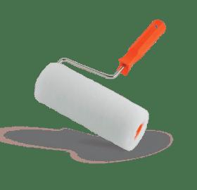 Rullo per pittura ideale per piccoli lavori domestici larghezza 24 cm Boldrini 404