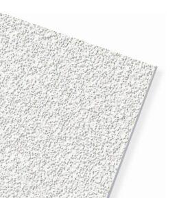 Pannelli controsoffitto 60x60 knauf fibra minerale sabbiati bordo dritto 13 mm 5.76 mq AMF Orbit