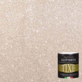 Glitter per pittura pareti in emulsione neutra Tixe Glittertix Madreperla 250 ml