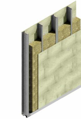 Kit per realizzare parete cartongesso esterna